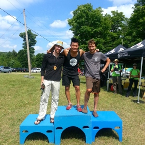 Top 3 men at Limberlost 2014